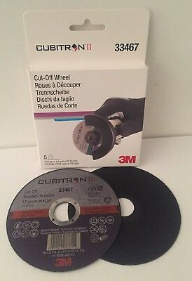 5Xdisks To Cut Cubitron Ii 3M 115Mmx1Mmx22,23Mm 33467