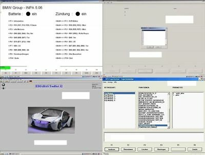 BMW Diagnose Software Paket - Ediabas INPA NCS Expert für Windows (Dropbox)