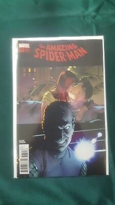 Amazing Spider-Man #797 2Nd Printing Variant Alex Ross Threat Level Red