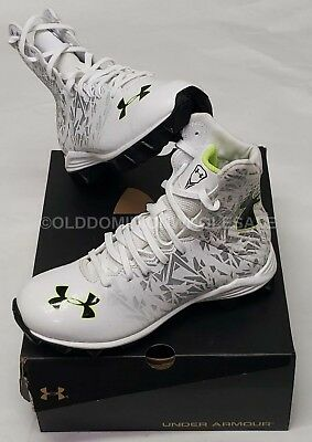 New Under Armour 1258695-102 Lax Highlight Rm Jr Lacross Cleats