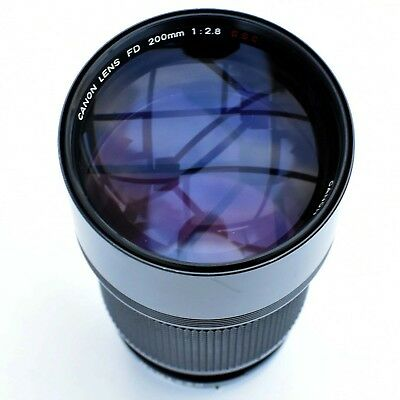 Canon FD 200 mm f/2.8 super sharp Tele lens for Sony. Exc++++ See test pics