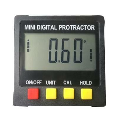 Mini Digital Gauge Angle Protractor Electronic Level Inclinometer Magnetic Base