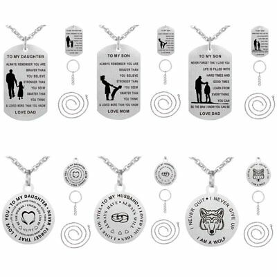 Christmas Gifts For Mom From Son.Christmas Gifts For Mom Dad Son Daughter Necklace Keyring Mother Mom Presents