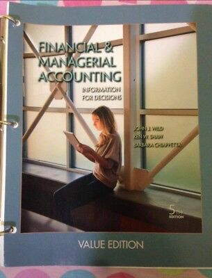 Financial and Managerial Accounting: Information for Decisions by Barbara...
