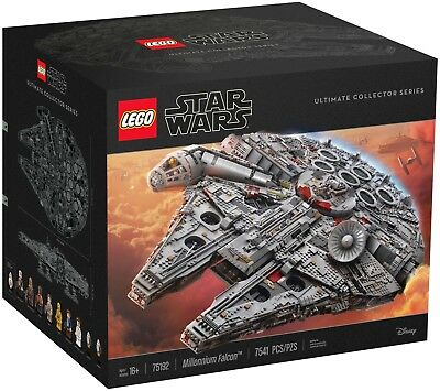 LEGO Star Wars 75192 Millennium Falcon ★ Ultimate Collector Series  NEU & OVP