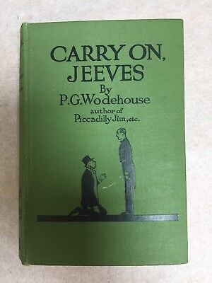 Carry on Jeeves by P.G. Woodehouse 3rd edition