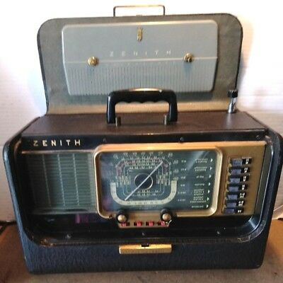 Vintage Zenith Model H500 Transoceanic Am Shortwave Portable Tube. Vintage Zenith Model H500 Transoceanic Am Shortwave Portable Tube Radio 5h40. Wiring. Zenith Tube Radio Schematics 5h40 At Scoala.co