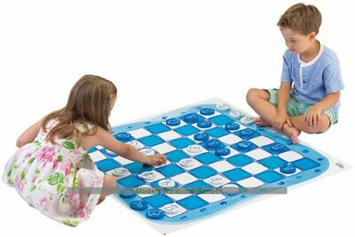 Large Chess and Draughts Floor Game - 1 metre mat