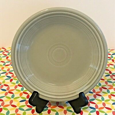 """NEW FIESTAWARE PEARL GRAY 10.5/"""" DINNER PLATE FIESTA Retired Color 1st QUALITY"""