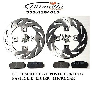 0182052 DISCO FRENO ANT D.209mm LIGIER X-TOO MAX R S RS OPTIMAX MICROCAR CARGO