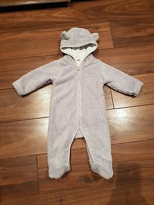 The Little White Company Snowsuit/All In One  3-6 months