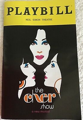 Playbill The Cher Show 'opening Night' Neil Simon Theatre New Cover Mint