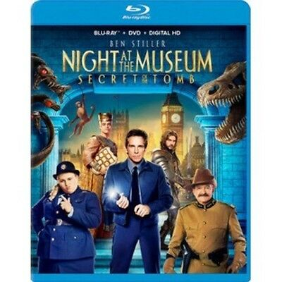Night at the Museum: Secret of the Tomb Blu-ray+DVD+Digital HD Factory Sealed!
