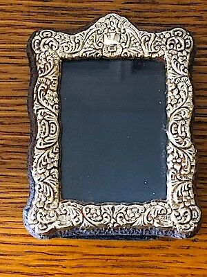 Vintage sterling silver small Carr's picture frame. Sweet.