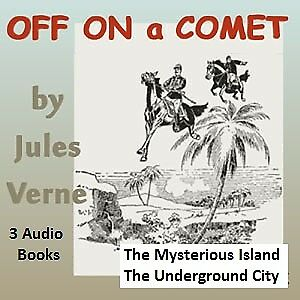CD - Jules Verne - Off on a Comet + More Audio Books