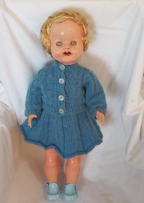 Vintage Hard Plastic Roddy Doll 15inch Walker Made In England 1950's-60's