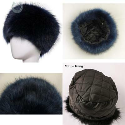 bed0c66a333 Dikoaina Faux Fur Cossack Russian Style Hat For Ladies Winter Hats For Women