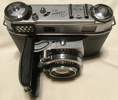 Kodak Retina IIIc Vintage 35mm Rangefinder with Case