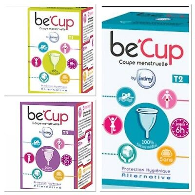 Intima coupe menstruelle be cup taille 1/2/3 aux choix