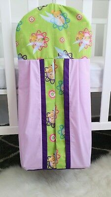"Brand new ""Tinkerbell"" Nappy stacker in lilac/ purple"