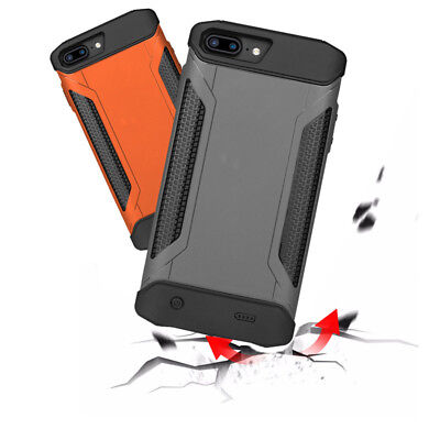 Shockproof Battery Case Charger Portable Cover For iPhone 6 7 8 Plus + Apple 4.7