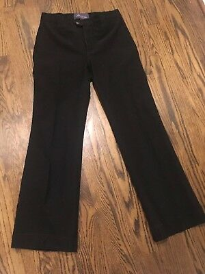 a350becec0745 Women s NYDJ Not Your Daughter s Jeans Black Dress Pants Size 6 Trousers   1544