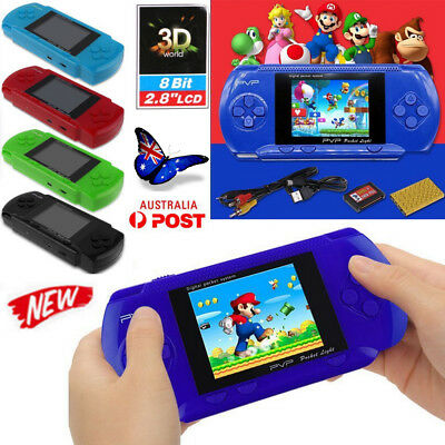 Handheld Hand Held Game Gaming Console Retro Vintage 3000 Video Games Xmas Gifts