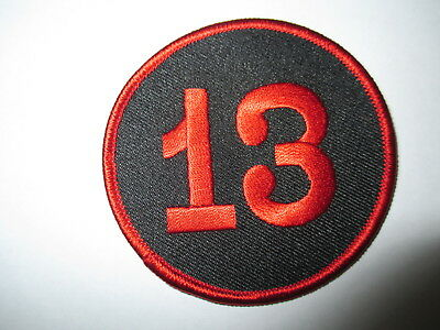 Number 13 Patch