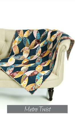 Metro Twist - A Quilt pattern from Sew Kind of Wonderful