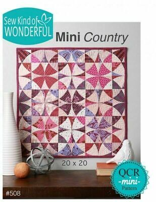 Mini Country Quilt Pattern by Sew Kind of Wonderful