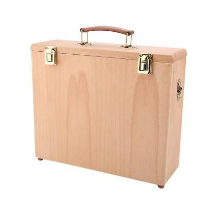 Multi-functional Beech Artist Easel Drawing Painting Storage Box 32*27*10cm