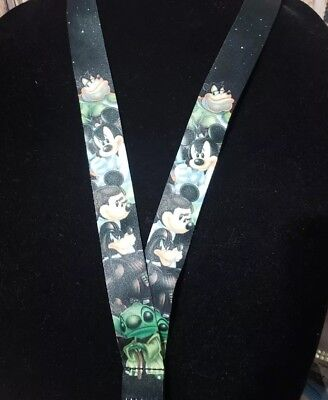 Disney Parks Star Wars Mickey & Minnie Mouse & Pete Lanyard Retired