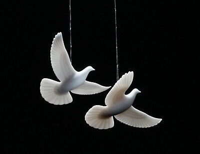 Set of 2 Turtle Doves from HOME ALONE 2 AUTHENTIC ORIGINAL Dove Ornaments
