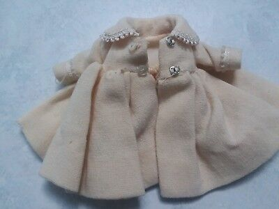 "Madame Alexander 8"" Little Genius Coat Tagged Reg US Pat Off NY USA"