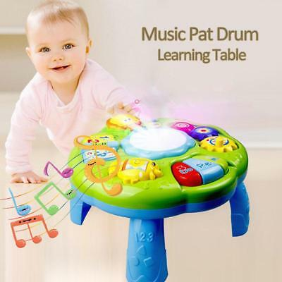 New Baby Educational Musical Desk Toys Music Activity Center Game Baby Toy Gift