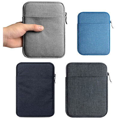 Soft 6 Canvas Sleeve Bag Case Pouch For Kindle Paperwhite Tablet 558 958 eReader