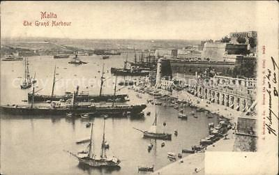 12189990 Malta The Grand Harbour General View Malta