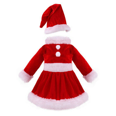Christmas Santa Suit Outfit Dress Clothes for 18'' Our Generation My Life Doll