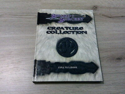 Scarred Lands Creature Collection I Core Rulebook HC Sword & Sorcery WW8300 EX