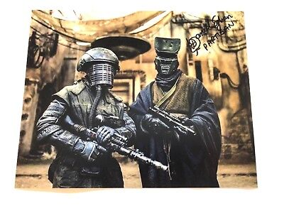 Photo Daniel Eghan in person signed autograph Star Wars
