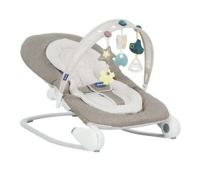 Chicco Hoopla Babywippe braun mit OVP - Wippe Baby - sehr guter Zustand