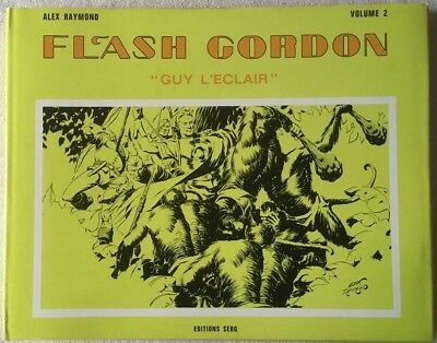 Bd-2J.d-Flash Gordon (Serg) Vol.2 Jaquette Verte (Raymond Alex) E. 1973 Tbe