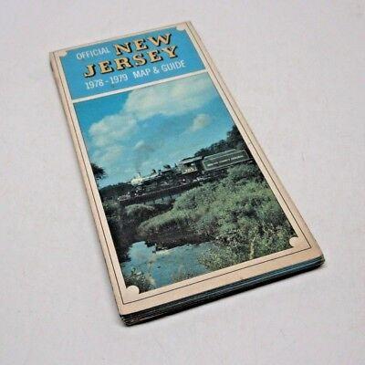 Official New Jersey 1978 -1979 Map & Guide