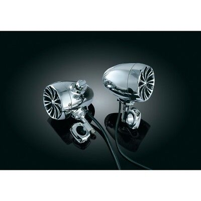 "Kuryakyn Sound of Chrome Kit  Lautsprecher Set  3"" Trike Harley"