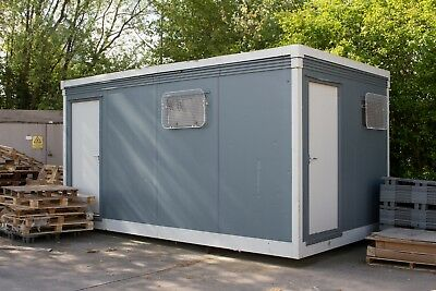 Portable Outdoor Building Toilet Cabin Block 16ft x 9ft Collection From Bristol