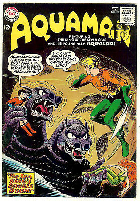 Aquaman #20 (DC 1965, vf- 7.5) guide value in this grade: $40.00 (£35.00)