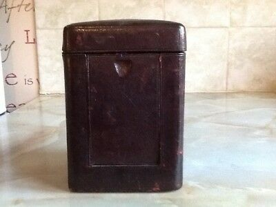 Antique Carriage Clock Carrying Case