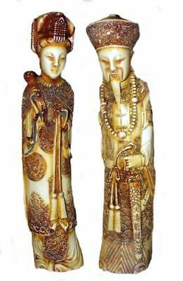 Harmony kingdom art Neil Eyre Designs 4Cast Chinese Oriental couple statues