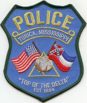 TUNICA MISSISSIPPI MS Top of The Delta POLICE PATCH