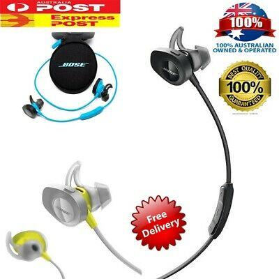 Bose SoundSport Bluetooth Wireless Earphone Headphone with New Pouch AU STOCK